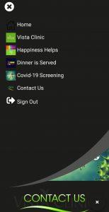 Vista Clinic mobile app
